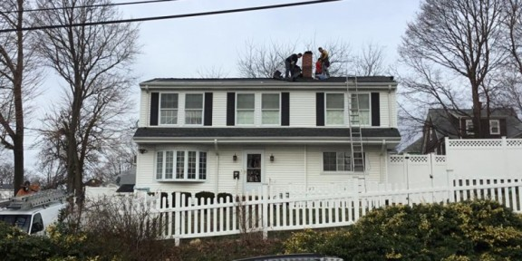 replacing a roof in peabody ma